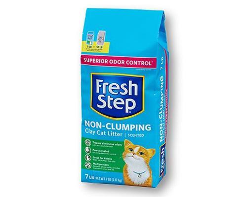 Fresh Step Non-Clumping Superior Odor Control Litter • 7 lb