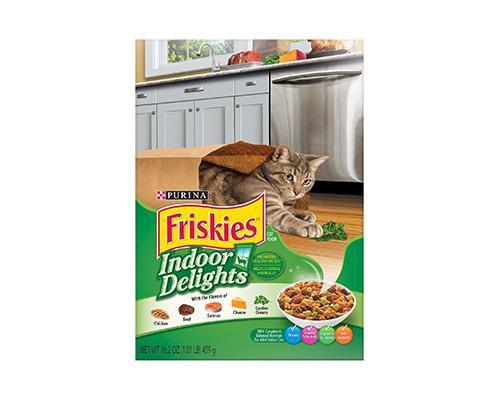 Friskies Indoor Delights Cat Food • 16 oz