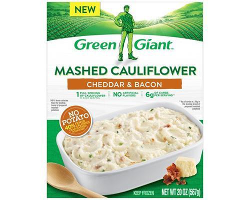 Green Giant Mashed Cauliflower Cheddar & Bacon • 20 oz