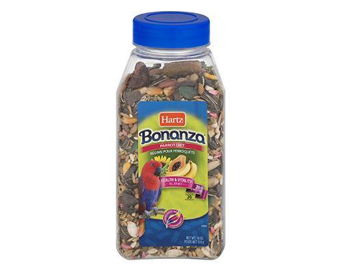 Hartz Bonanza Parrot Diet Health & Vitality Blend • 18 oz