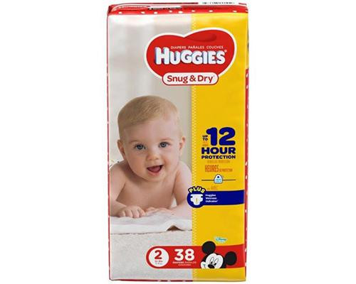 Huggies Snug & Dry Stage 2 - 38 ct