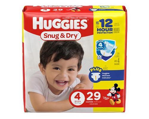 Huggies Snug & Dry Stage 4 - 29 ct