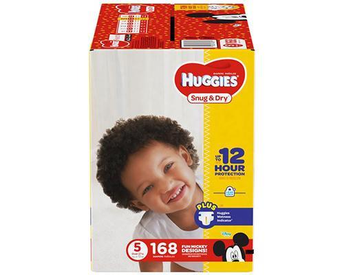 Huggies Snug & Dry Stage 5 - 168 ct