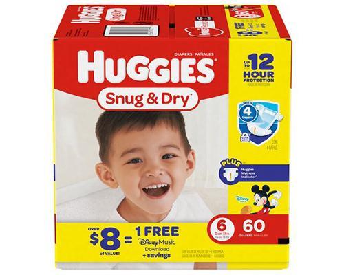 Huggies Snug & Dry Stage 6 - 60 ct