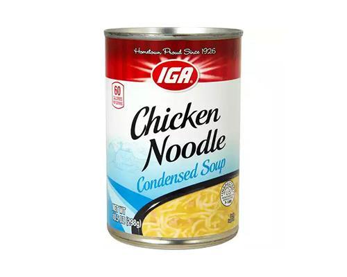 IGA Chicken Noodle Condensed Soup • 10.5 oz
