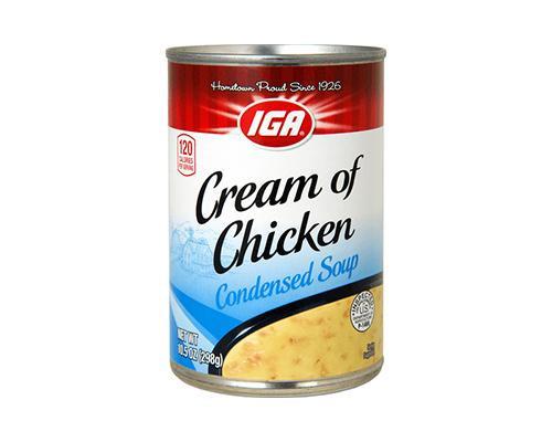 IGA Cream of Chicken Condensed Soup • 10.5 oz