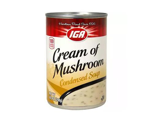 IGA Cream of Mushroom Soup • 10.5 oz