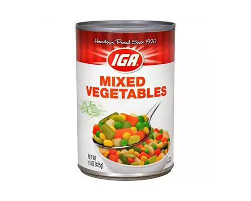 IGA Mixed Vegetables • 15 oz