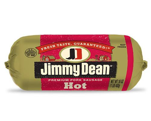 Jimmy Dean Premium Pork Sausages Hot • 16 oz