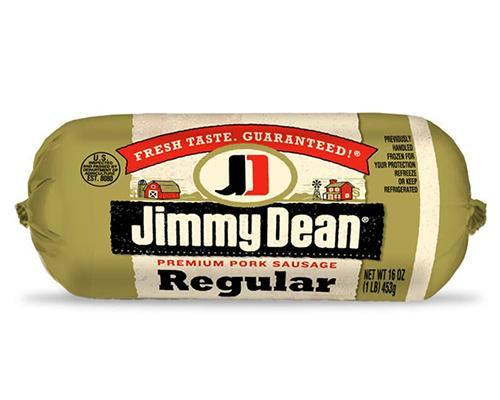 Jimmy Dean Premium Pork Sausages Regular • 16 oz