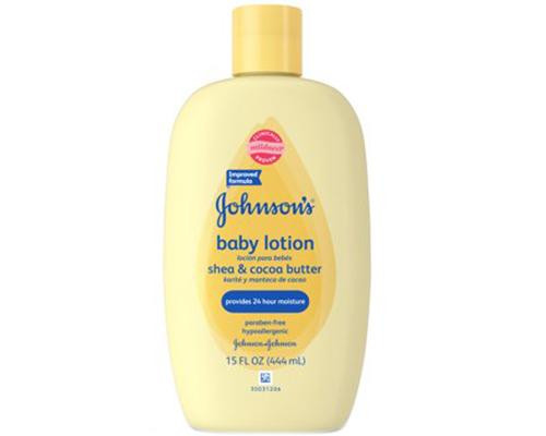 Johnson's Baby Lotion Shea & Cocoa Butter • 15 oz