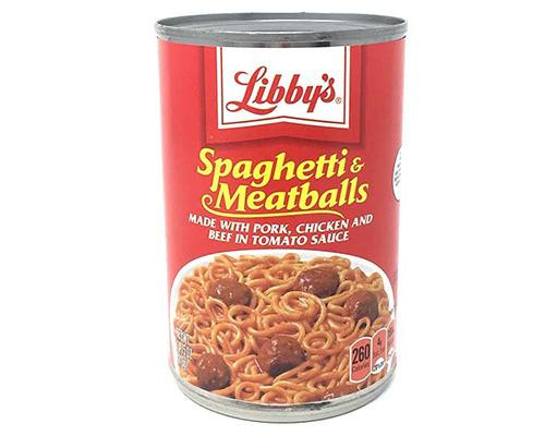Libby's Spaghetti & Meatballs • 15 oz