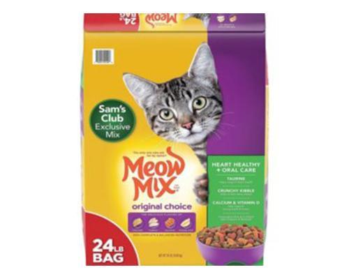 Meow Cat Food • 24 lb