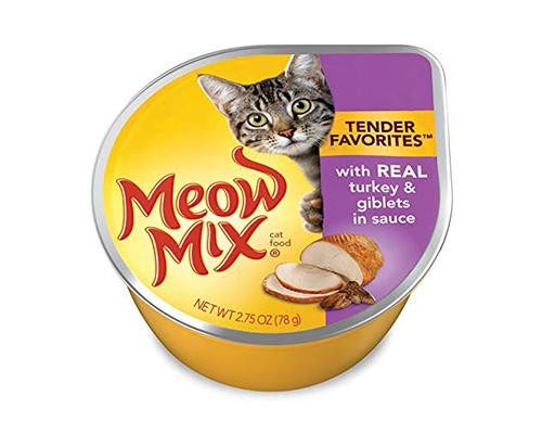 Meow Mix - Turkey & Giblets • 2.75 oz