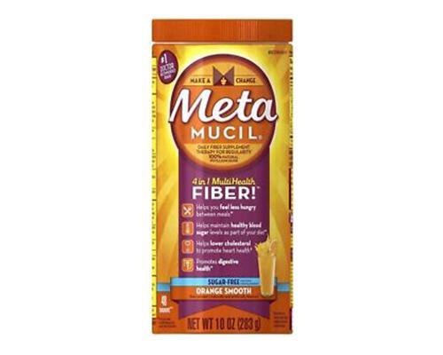 Metamucil Fiber Orange Smooth • 10 oz