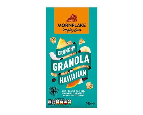 Mornflake Mighty Oats Crunchy Granola Hawaiian • 500 g