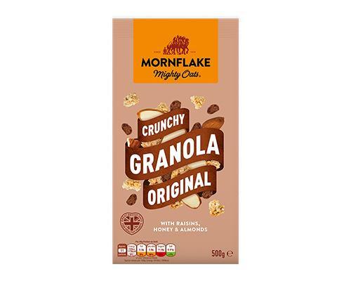 Mornflake Mighty Oats Crunchy Granola Original • 500 g