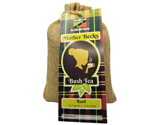 Mother Becky Bush Tea Bags Basil - 15 ct • 15.7 g