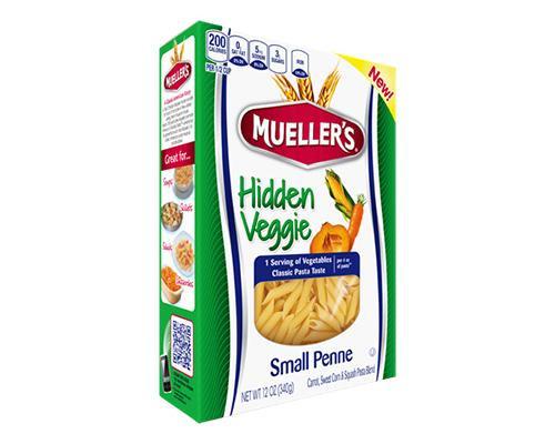 Mueller's Hidden Veggie Twisted Elbow • 12 oz