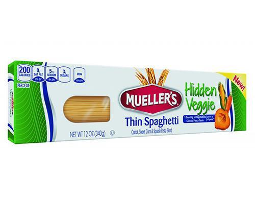 Mueller's Thin Spaghetti with Hidden Veggie • 12 oz