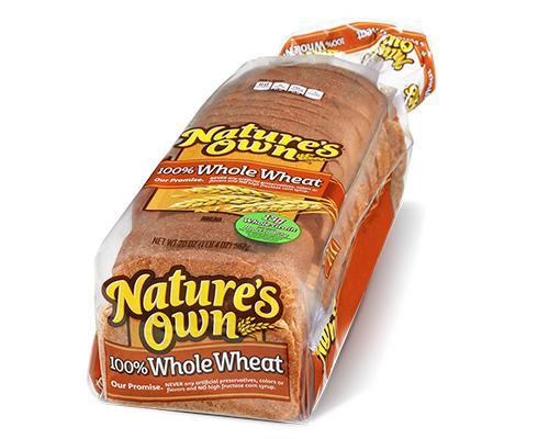 Nature's Own 100% Whole Wheat Bread • 20 oz