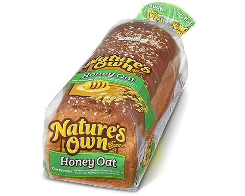 Nature's Own Honey Oats Bread • 20 oz