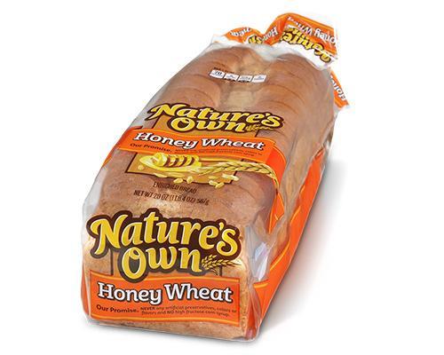 Nature's Own Honey Wheat Bread • 20 oz