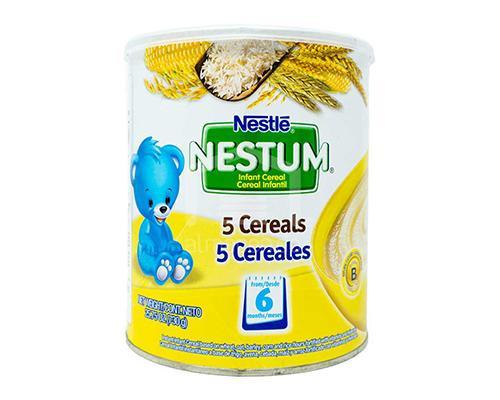 Nestle Nestum 6 - 5 Cereals • 25.75 oz