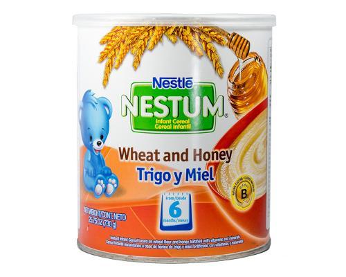 Nestum Wheat & Honey Baby Cereal • 25.75 oz