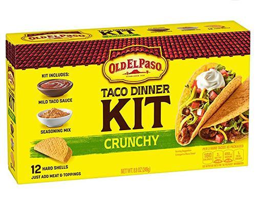 Old El Paso Taco Dinner Kit Crunchy - 12 ct • 8.8 oz