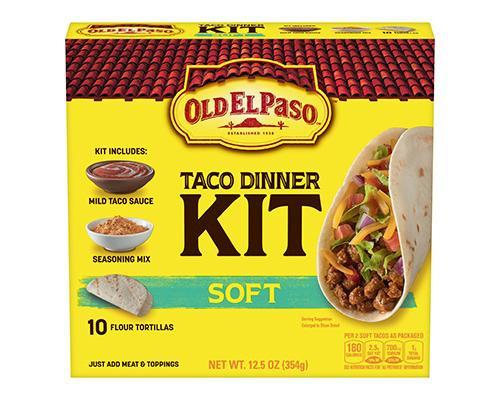 Old El Paso Taco Dinner Kit Soft - 10 ct • 12.5 oz