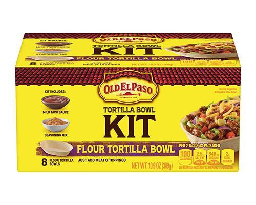 Old El Paso Tortilla Bowl Kit - 8 ct • 10.9 oz