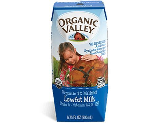 Organic Valley Milk Low Fat • 64 oz