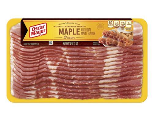 Oscar Mayer Maple Bacon • 16 oz