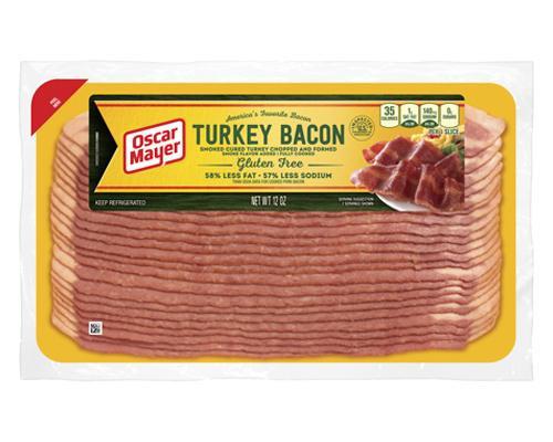 Oscar Mayer Turkey Bacon (Gluten Free) • 12 oz