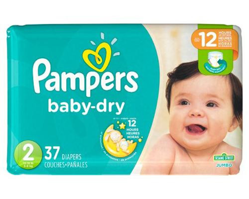 Pampers Baby Dry Stage 2 - 37 ct