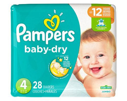 Pampers Baby Dry Stage 4 - 28 ct