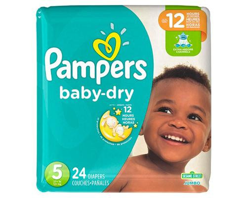 Pampers Baby Dry Stage 5 - 24 ct