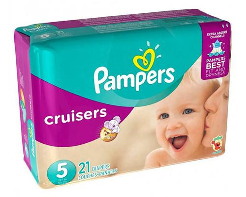 Pampers Cruisers Stage 5 - 21 ct