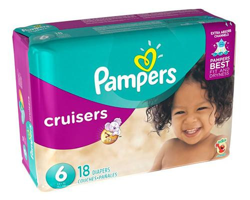 Pampers Cruisers Stage 6 - 18 ct