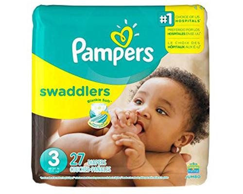 Pampers Swaddlers Stage 3 - 27 ct