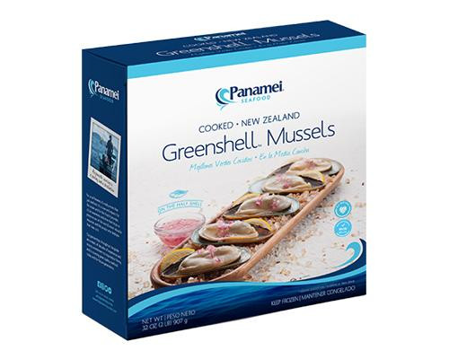 Panamei New Zealand Greenshell Mussels Cooked • 2 lbs
