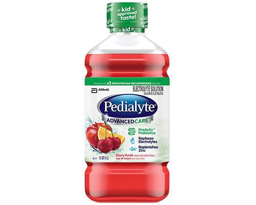 Pedialyte  Advanced Care Cherry Punch • 34 oz