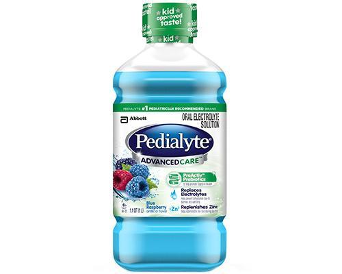 Pedialyte Advanced Care Blue Raspberry • 34 oz