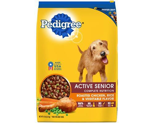 Pedigree Active Senior Roasted Chicken Rice & Vegetables • 15 lb