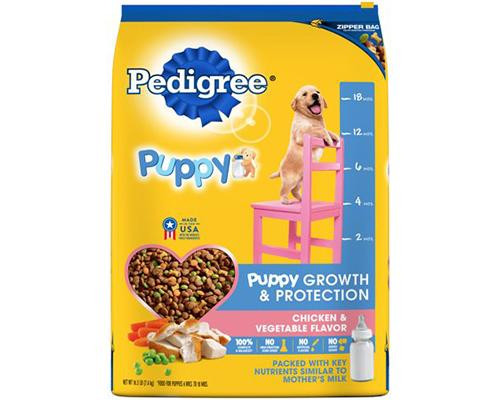 Pedigree Puppy Growth & Protection Chicken & Vegetables • 16 lb