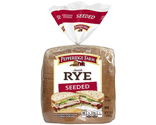 Pepperidge Farm Jewish Rye Bread Seeded • 16 oz