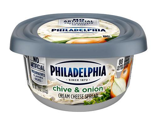 Philadelphia Cream Cheese Spread Chive & Onion • 7.5 oz