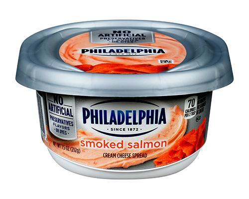 Philadelphia Cream Cheese Spread Smoked Salmon • 7.5 oz