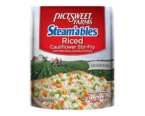 Pictsweet Farms Steamables Riced Cauliflower Stir Fry • 10 oz